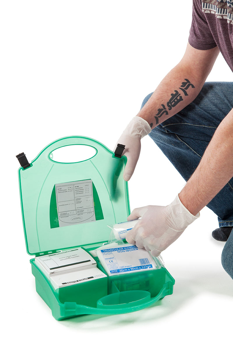 What you should find in your First Aid Kit