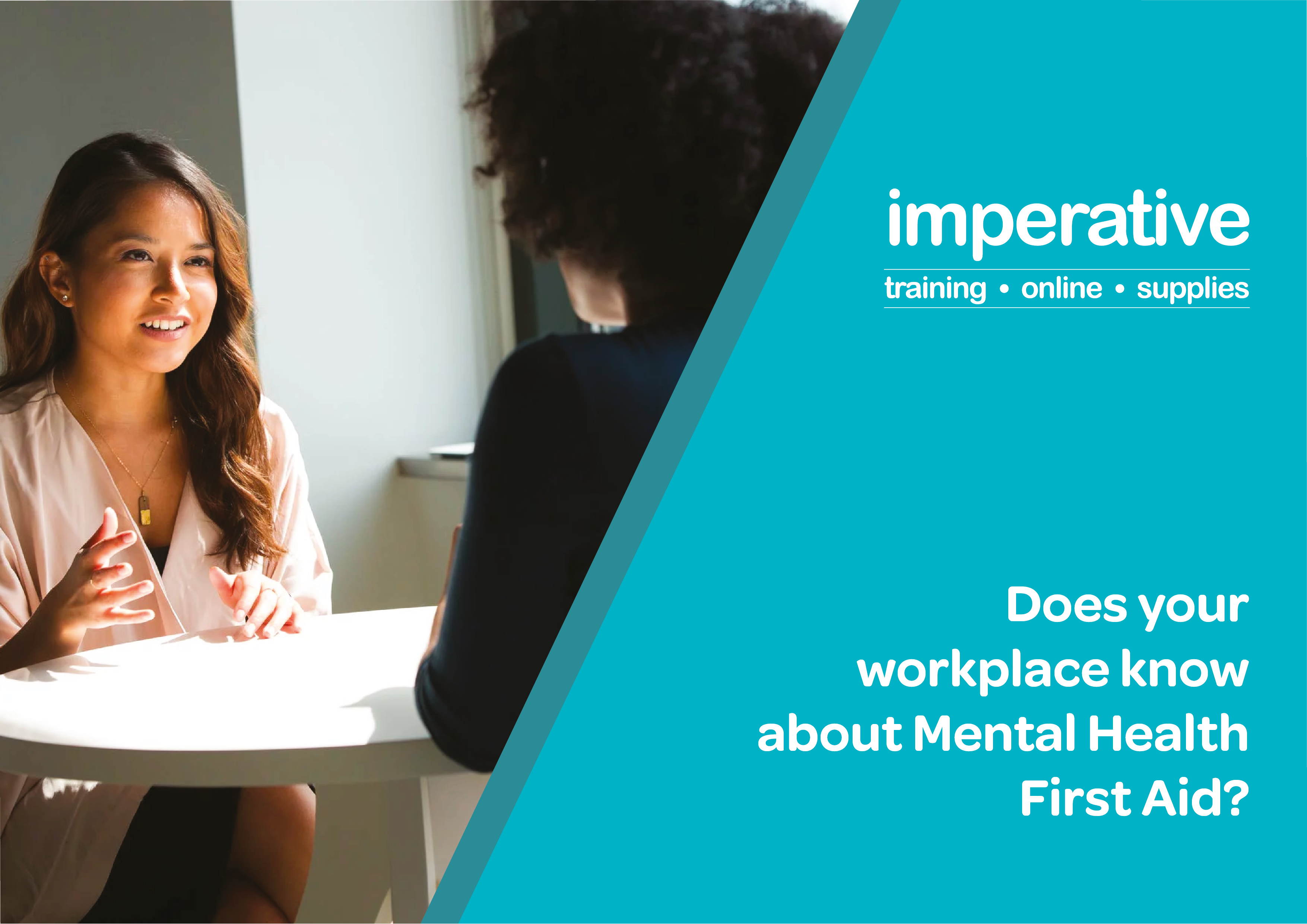 Does your Workplace know about Mental Health First Aid?