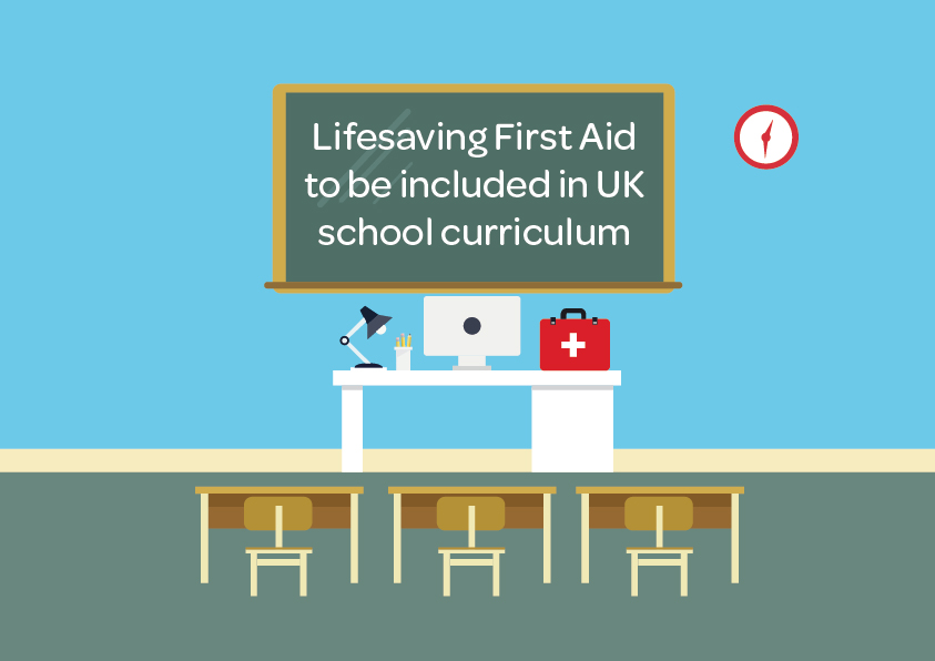 Lifesaving First Aid to be included in UK school curriculum