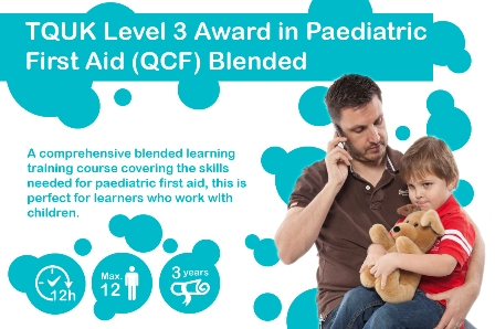 Paediatric First Aid – Blended Learning