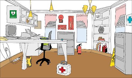 Spot the difference: is your workplace fully equipped for first aid?