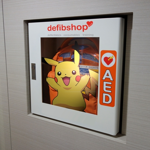 Pikachu AED WEb Large